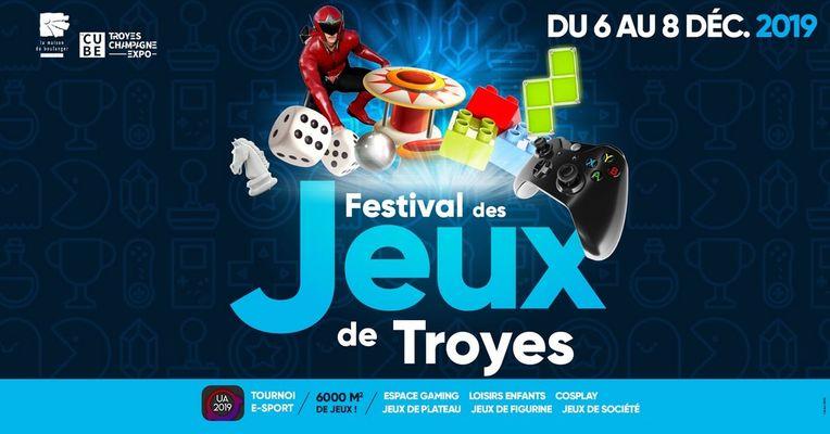 Festival des jeux ville de Troyes