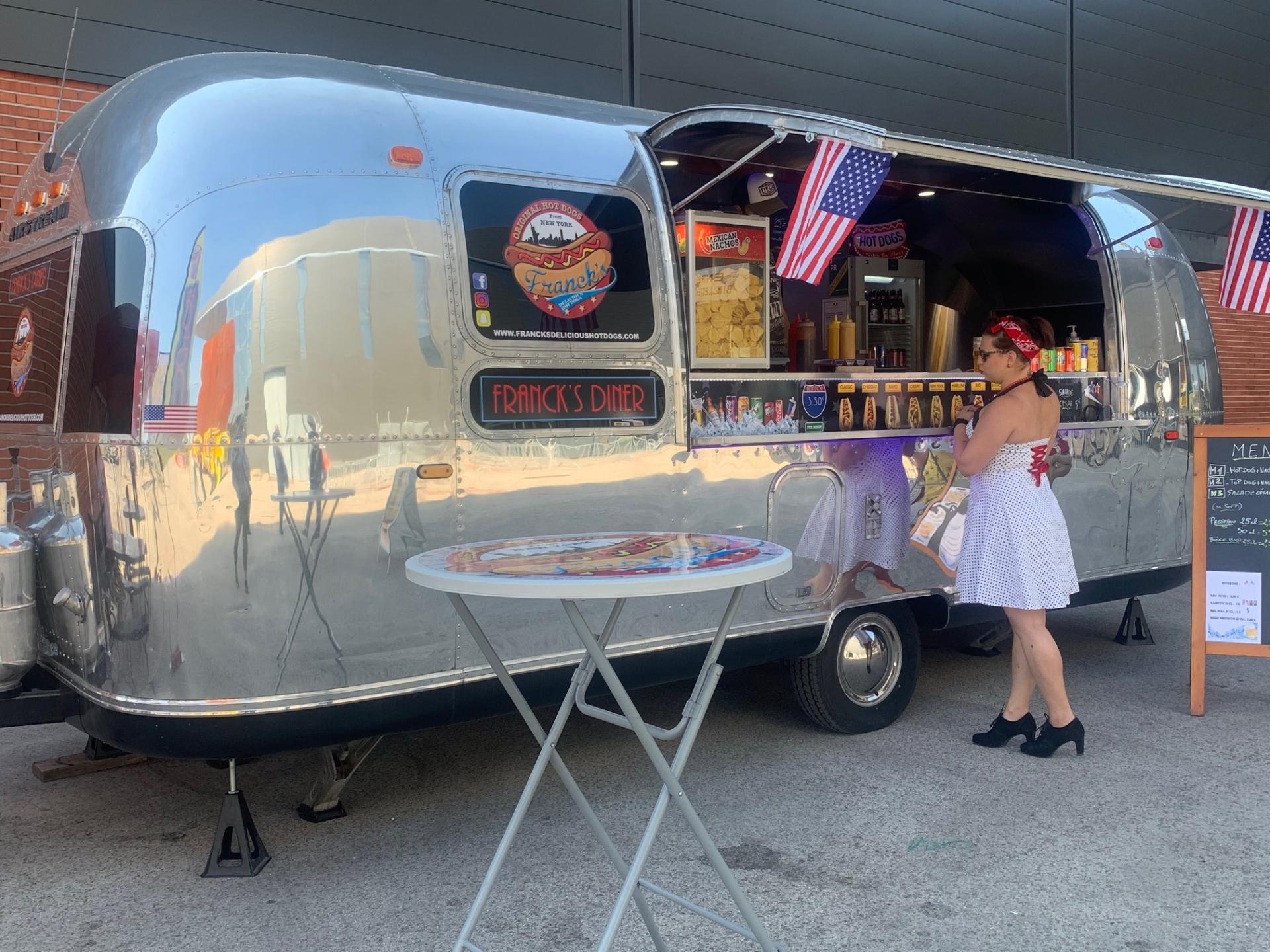 Foodtruck Airstream «Franck's Diner»
